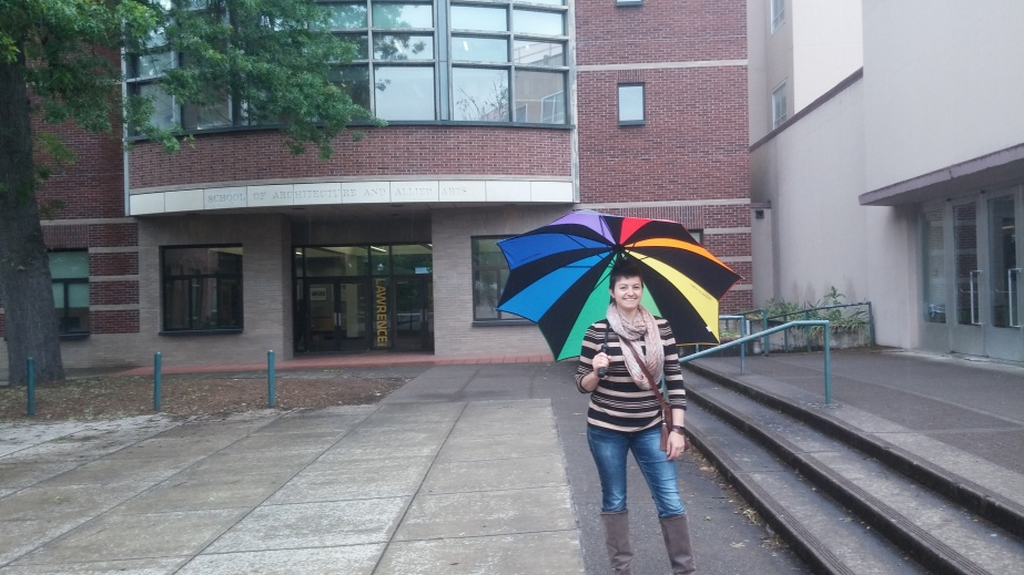 My first week at the University ofOregon