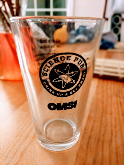 As a thank you, I received this awesome pint glass!